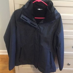 The North Face winter coat